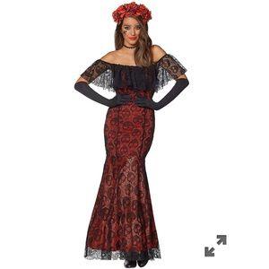 La Catrina Day of the Dead Costume Small